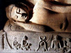 Reclining Buddha at the Ajanta Caves. http://www.indian-heritage.org/painting/ajanta/ajanta5.html. Online.