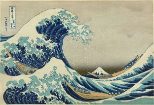The Great Wave of Kanagawa%2c Hokusai